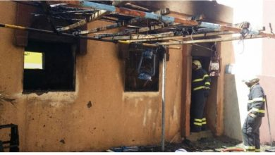 Photo of Civil Defence tackles Samail house fire
