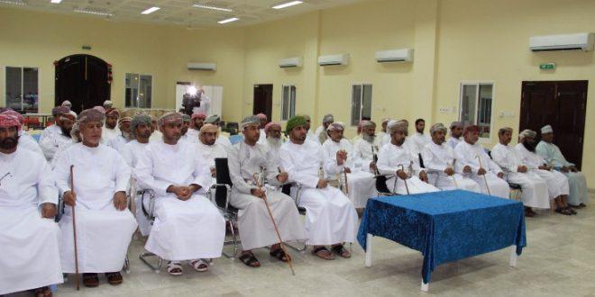 لجنة حقوق الإنسان تلتقي أهالي دبا ومدحاء
