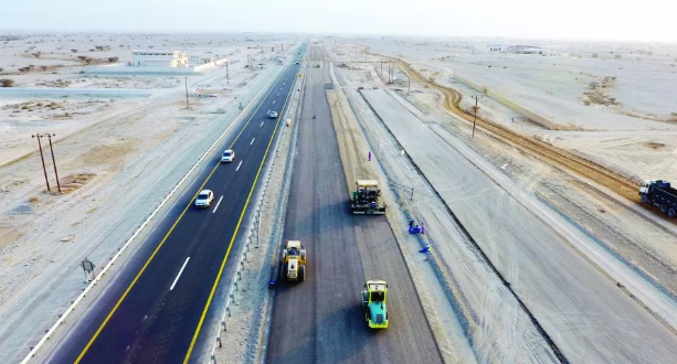 Photo of إنجاز 27% من ازدواجية طريق بركاء – نخل