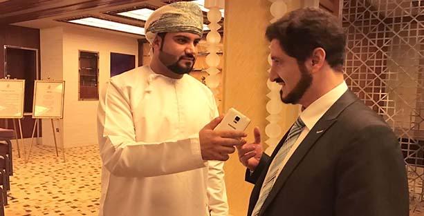 "Photo of عدنان إبراهيم لـ""أثير"": الطيبة والتواضع والحكمة أول انطباعاتي عن السلطنة"