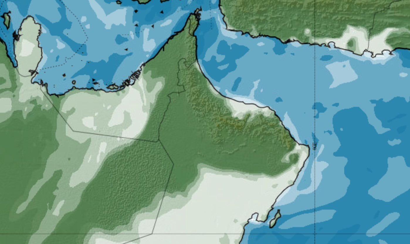 Photo of الأرصاد: فرص لأمطار متفرقة على بعض محافظات السلطنة