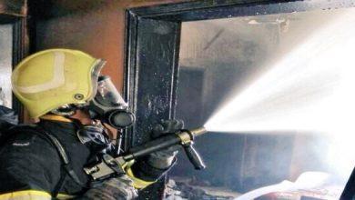 Photo of إخماد حريق شبّ في منزل بضنك