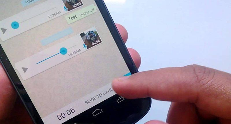 واتس أب  يتيح ميزة جديدة في تسجيل الرسائل الصوتية - صحيفة أثير الإلكترونية
