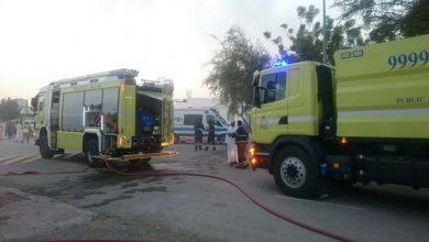 Photo of إخماد حريق شبّ في منزل بالعامرات