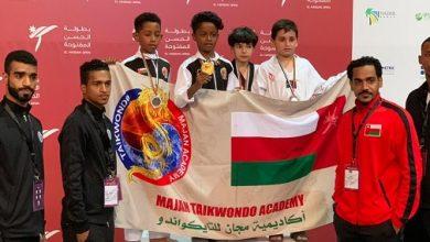 Photo of أكاديمية مجان تعود بـ7 ميداليات ملونة من بطولة دولية بالأردن