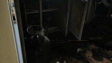 Photo of في صور: انفجار غاز طبخ في شقة سكنية وإصابة شخص
