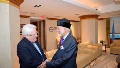 Photo of مبعوث الأمين العام للأمم المتحدة: أبحث عن النصيحة في مسقط