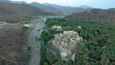 Photo of بالصور: القرية العمانية ذات المياه الوفيرة والأشجار الوارفة والآثار القديمة