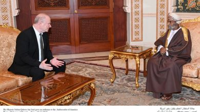 Photo of جلالة السلطان يستقبل السفير الأمريكي