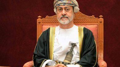 Photo of جلالة السلطان يهنىء أمير الكويت